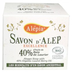 Savon d'Alep 40% d'huile de...