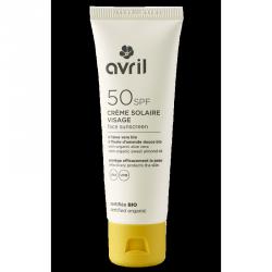 Crème solaire visage SPF 50